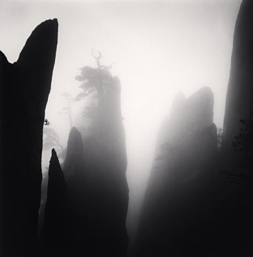 Huangshan mountains, Study 19. (c) Michael Kenna, 2009